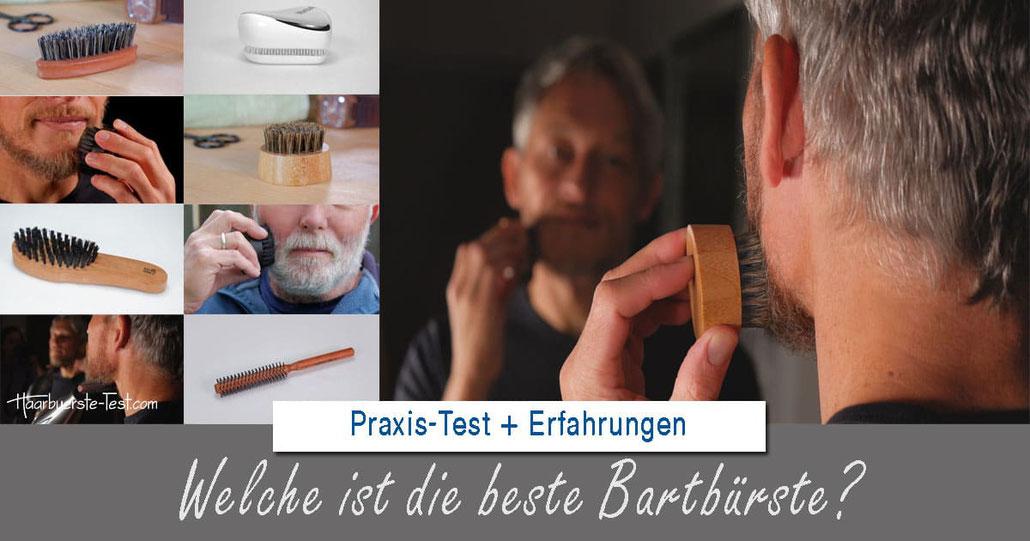 Bartbürste Test: Welche Bartbürste ist die beste zum Bart pflegen, entwirren oder stylen?