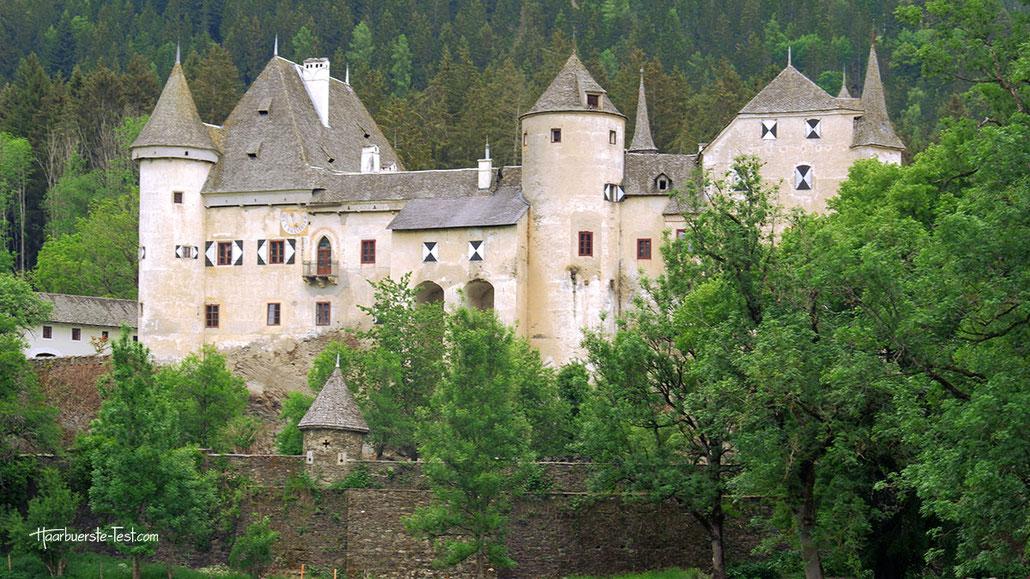 schloss frauenstein, märchenschloss, wasserburg