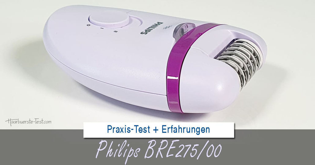 Philips BRE275/00, philips bre275/00 test, philips satinelle test, philips epilierer satinelle