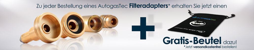 LPG-Adapter inkl. Filter und Beutel