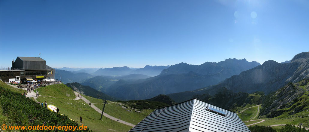 Startplatz Alpspitze