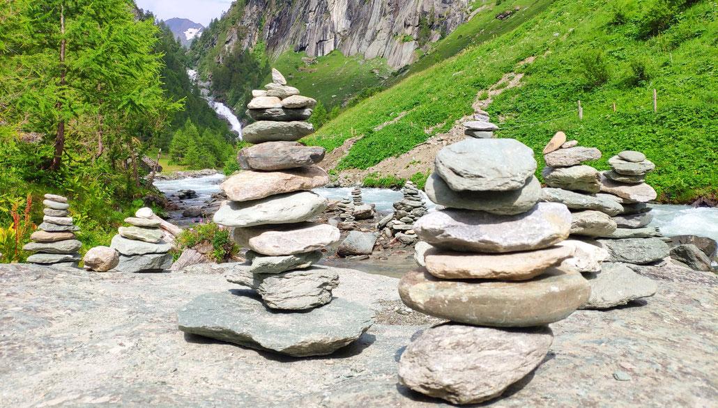 Steinmännchen - Achtsamkeit im Alltag