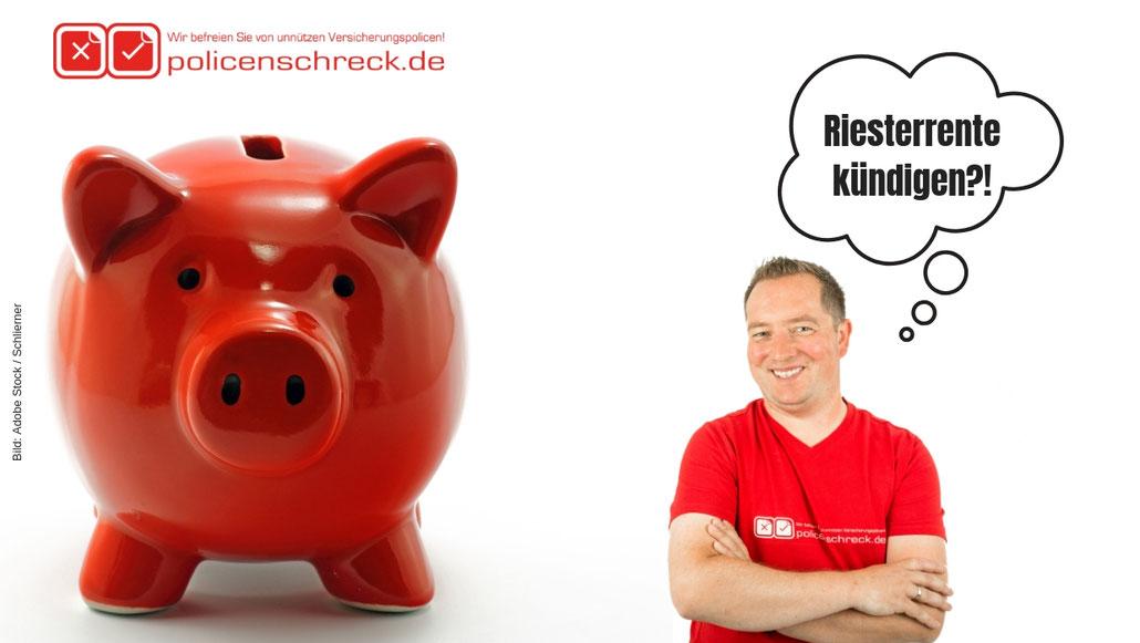 Riesterrente kündigen - Versicherungsmakler Rüsselsheim - Riesterrente - Versicherungsblog - Riesterrente überprüfen - Rüsselsheim Riesterrente