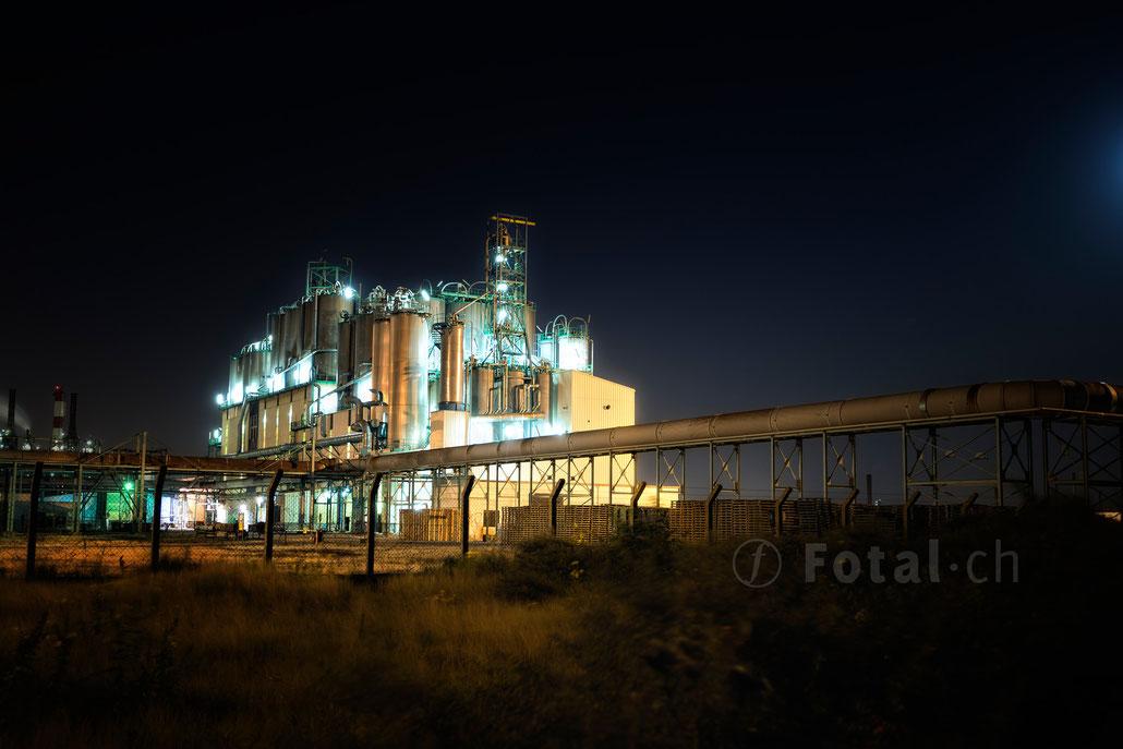Raffinerie Frankreich