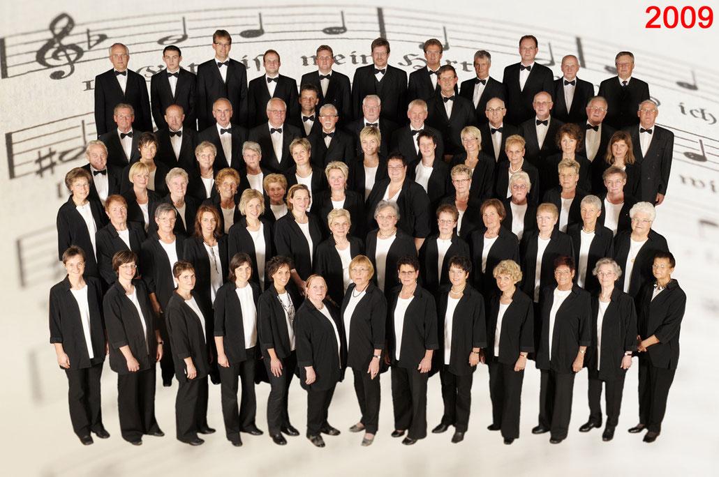 Der Kirchenchor Meggen im Jahr 2009