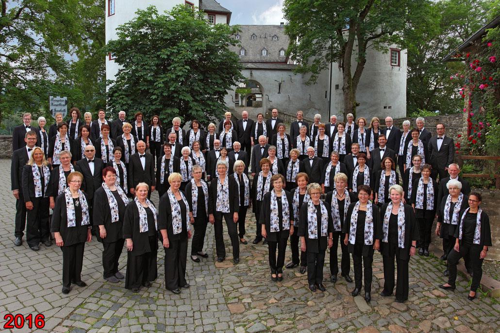 Der Kirchenchor Meggen im Jahr 2016