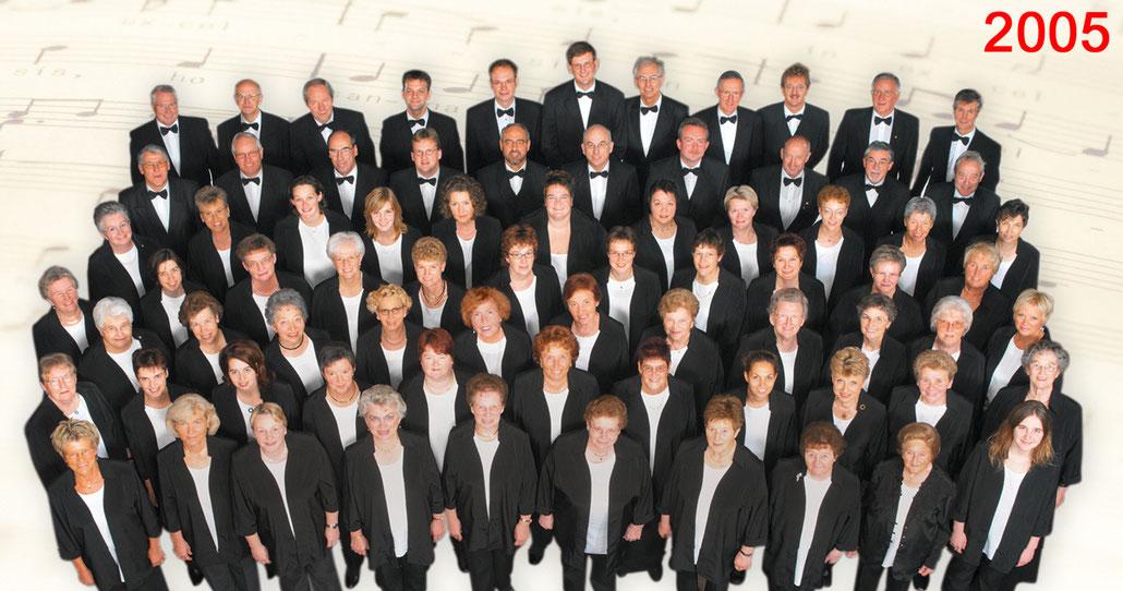 Der Kirchenchor Meggen im Jahr 2005