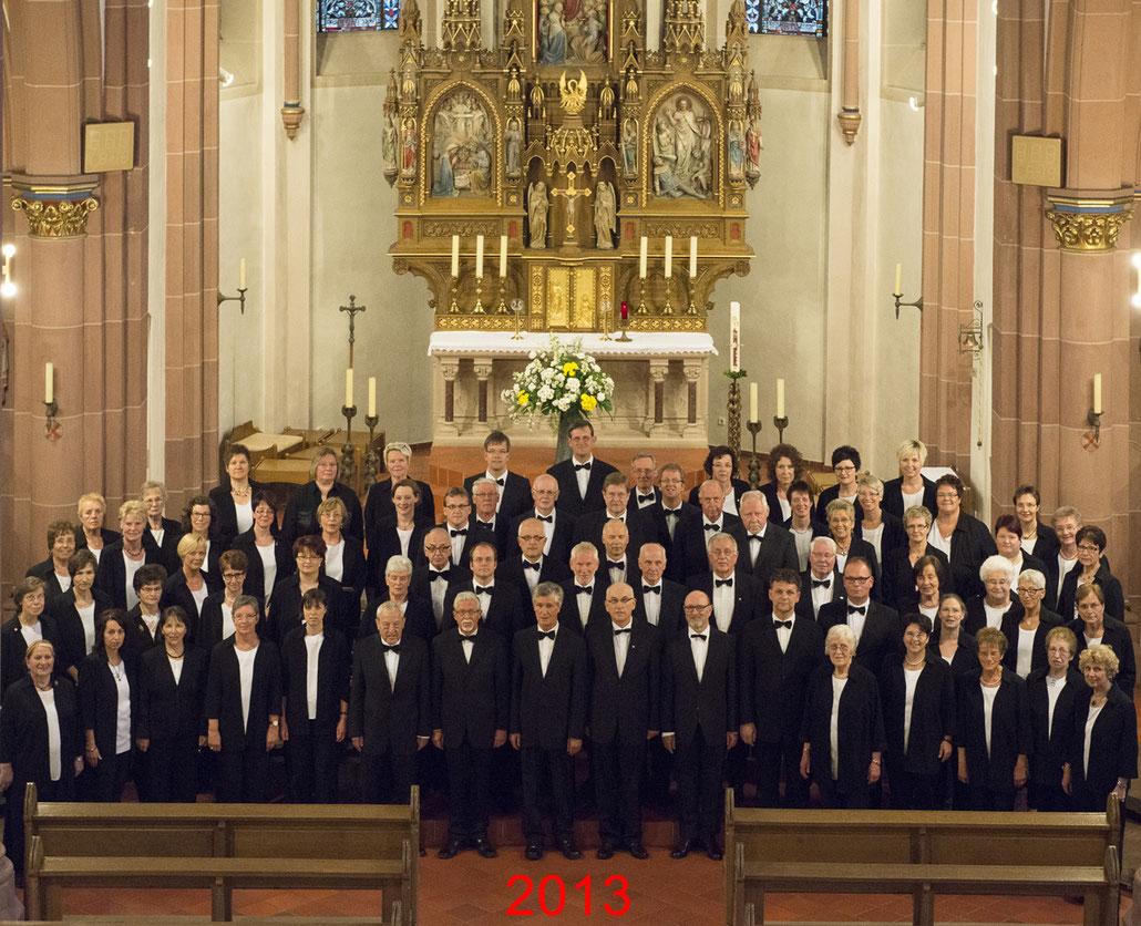 Der Kirchenchor Meggen im Jahr 2013