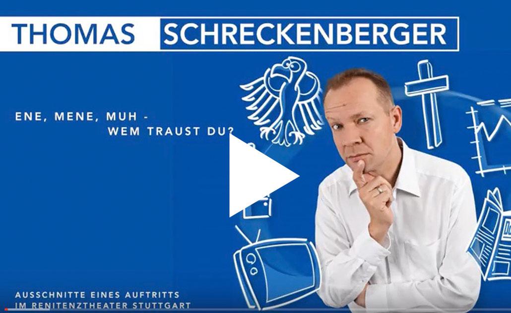 Thomas Schreckenberger Ene, Mene, Muh - wem traust Du