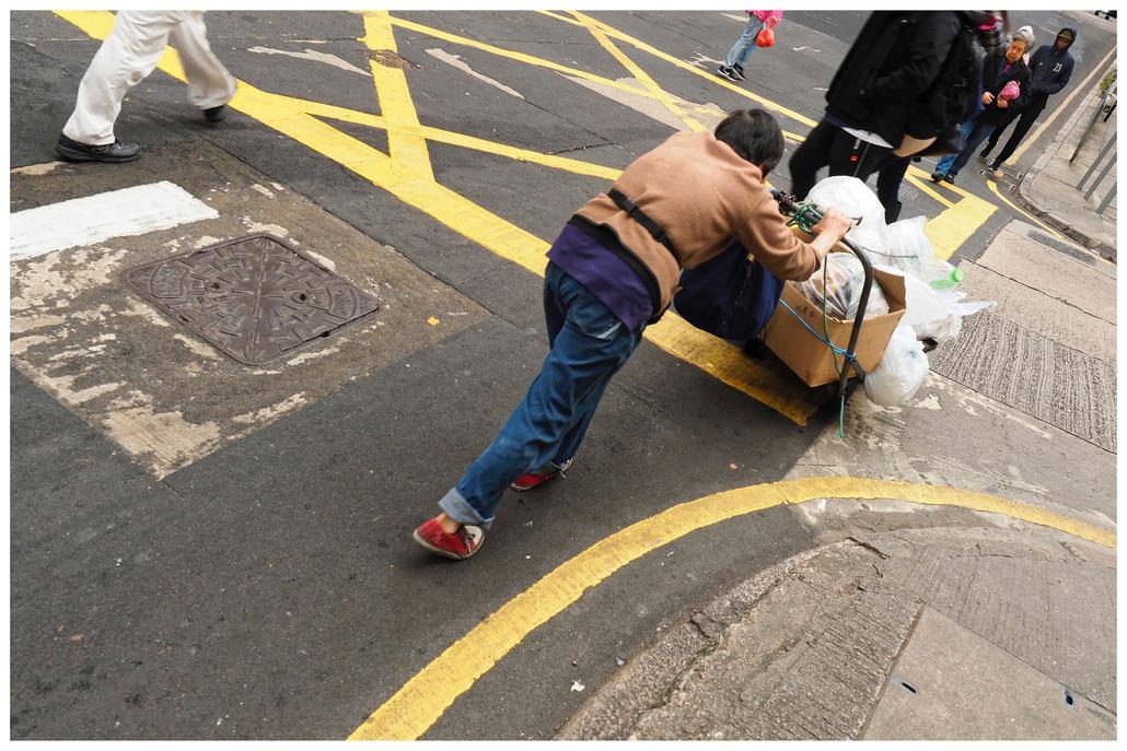 Hongkong - Müllentsorgung