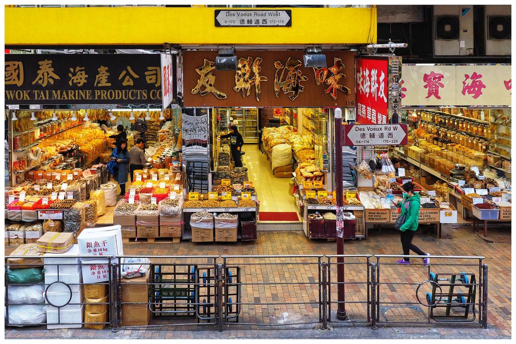 Hongkong - Sheung Wan - Des Voeux Road West