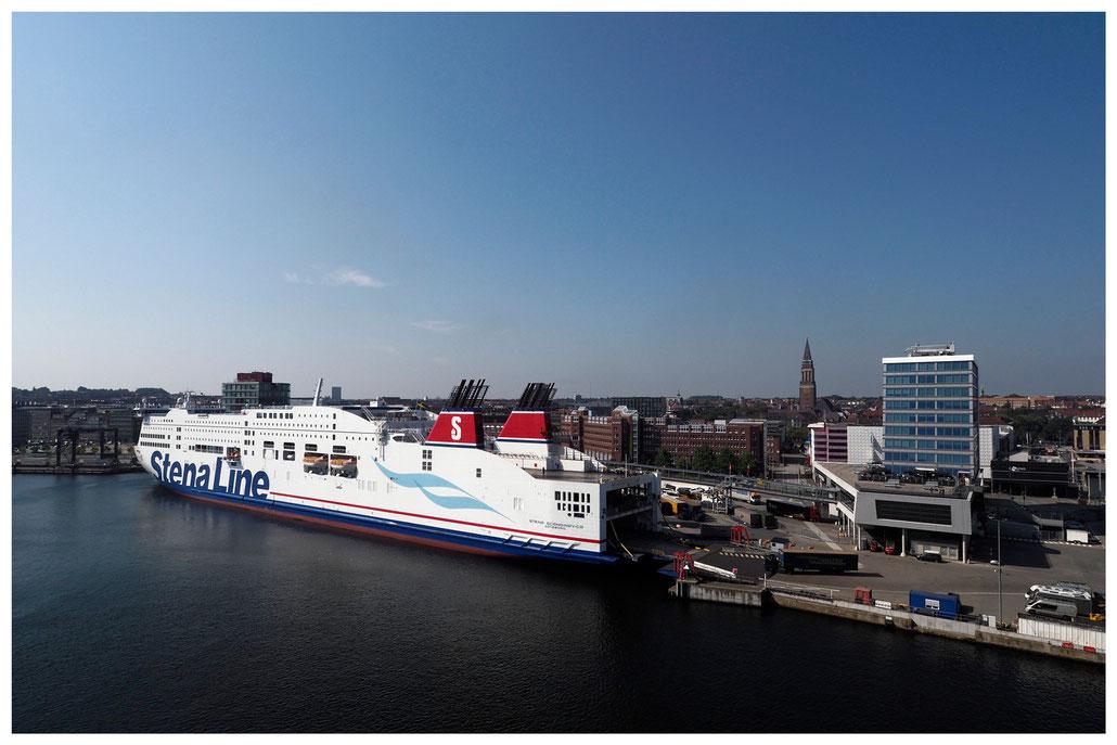 Stena Line Fähre nach Göteborg am Kieler Schwedenkai