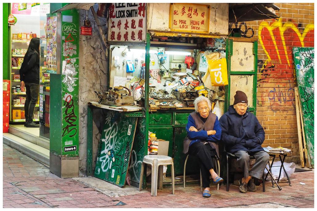 Hongkong - warten auf Kundschaft