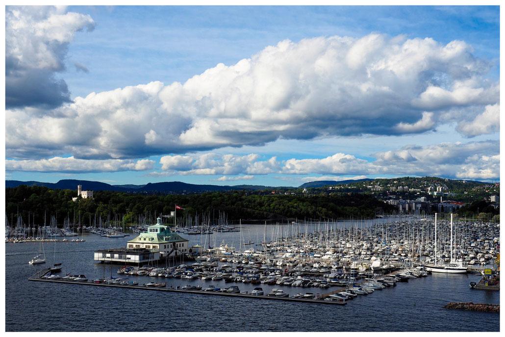 Oslo - altes Color Line Fährterminal und Jachtclub