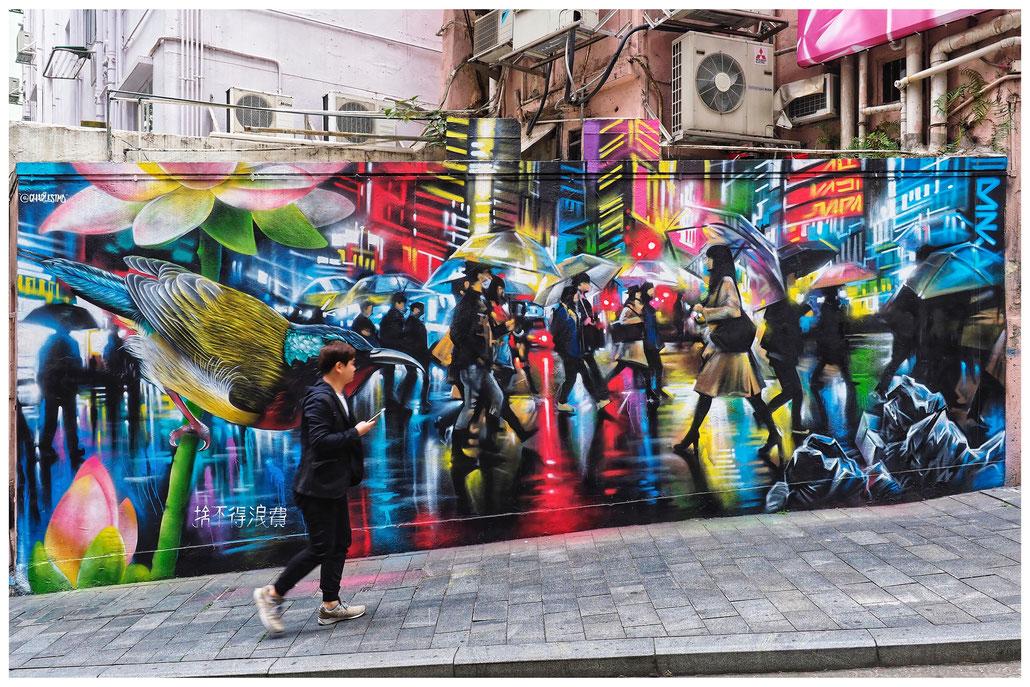 Hongkong - Graffiti