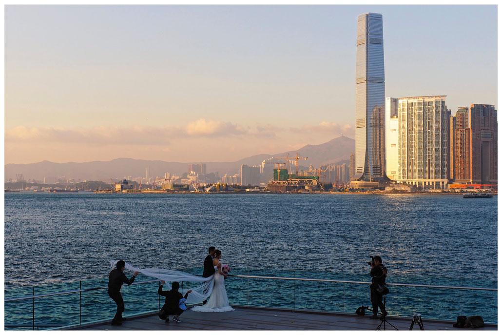 Hongkong - Hochzeitsfotos