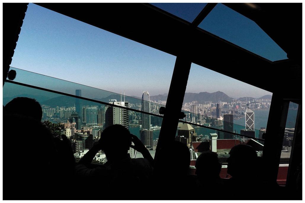"Hongkong - Fahrt zum ""The Peak"""