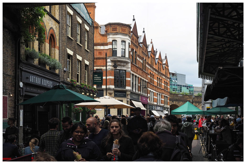 London - beim Borough Market