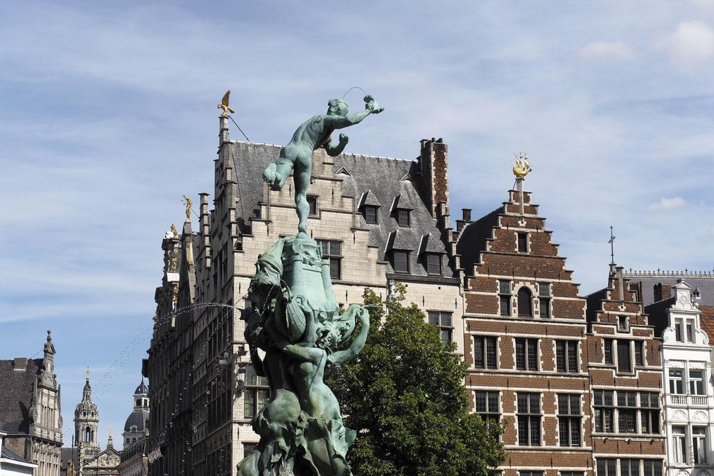 Antwerpen - Antwerp - Anvers - Brabomonument