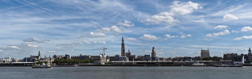 Antwerpen - Antwerp - Anvers - Stadtpanorama