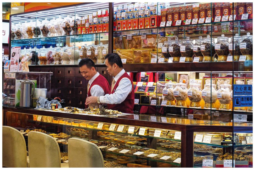 Hongkong - traditionelle Apotheke