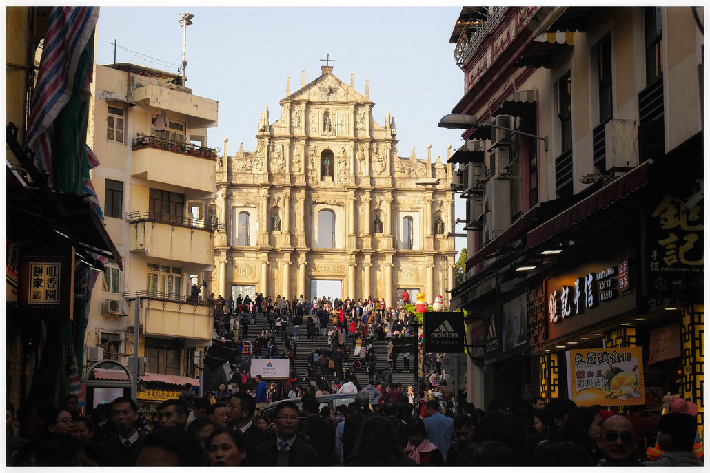 Macau - Fassade der Pauluskirche