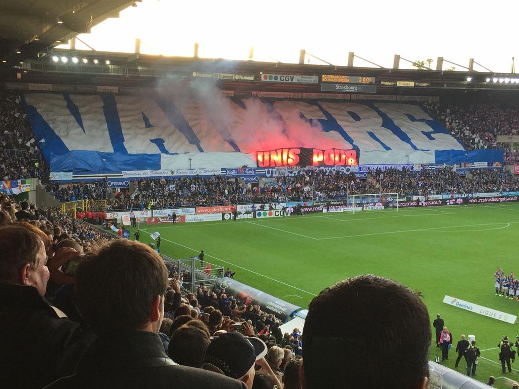 Stade de la Meinau le 19 mai 2017