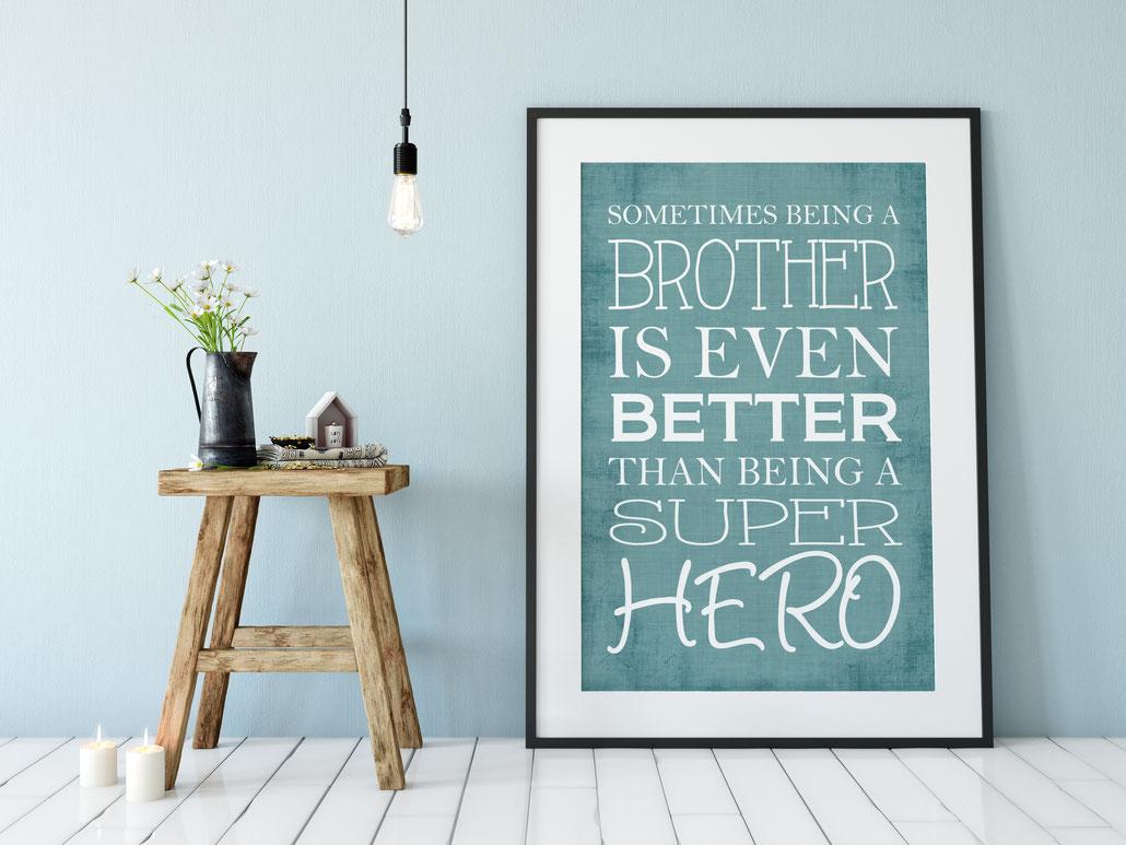 Druck Brother Wohnen & Leben