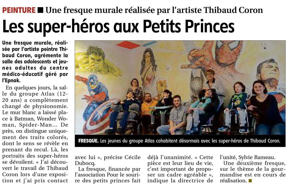article-l'yonne-républicaine-fresque-murale-thibaud-coron-epnak-les-petits-princes