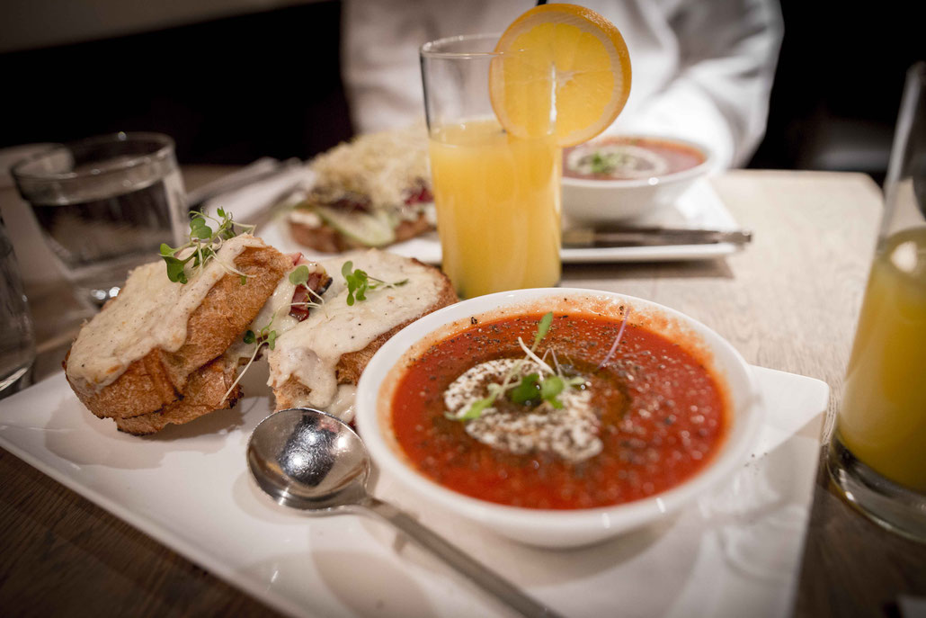 Winnipeg Thermea Spa restaurant review