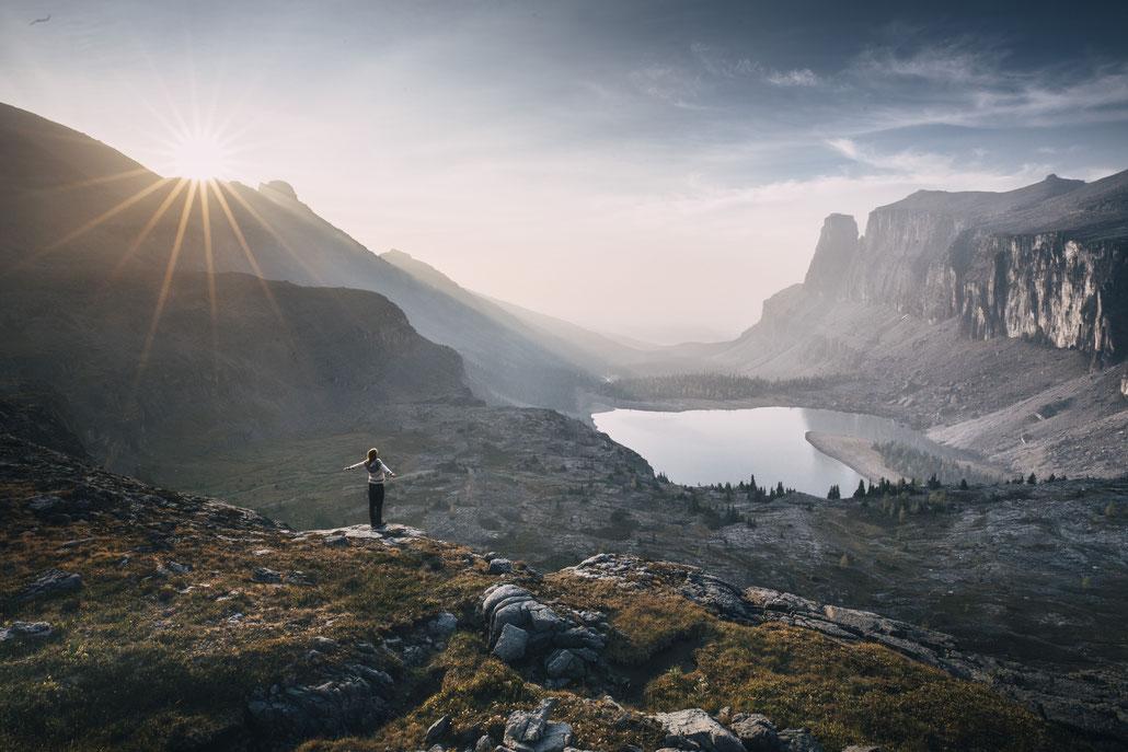 Rockbound Lake Canadian Rockies roadtrip hiking camping