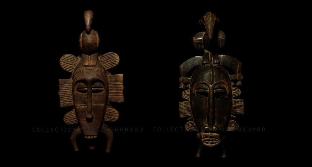 Kpelie masks by Doh Soro Senufo Senoufo
