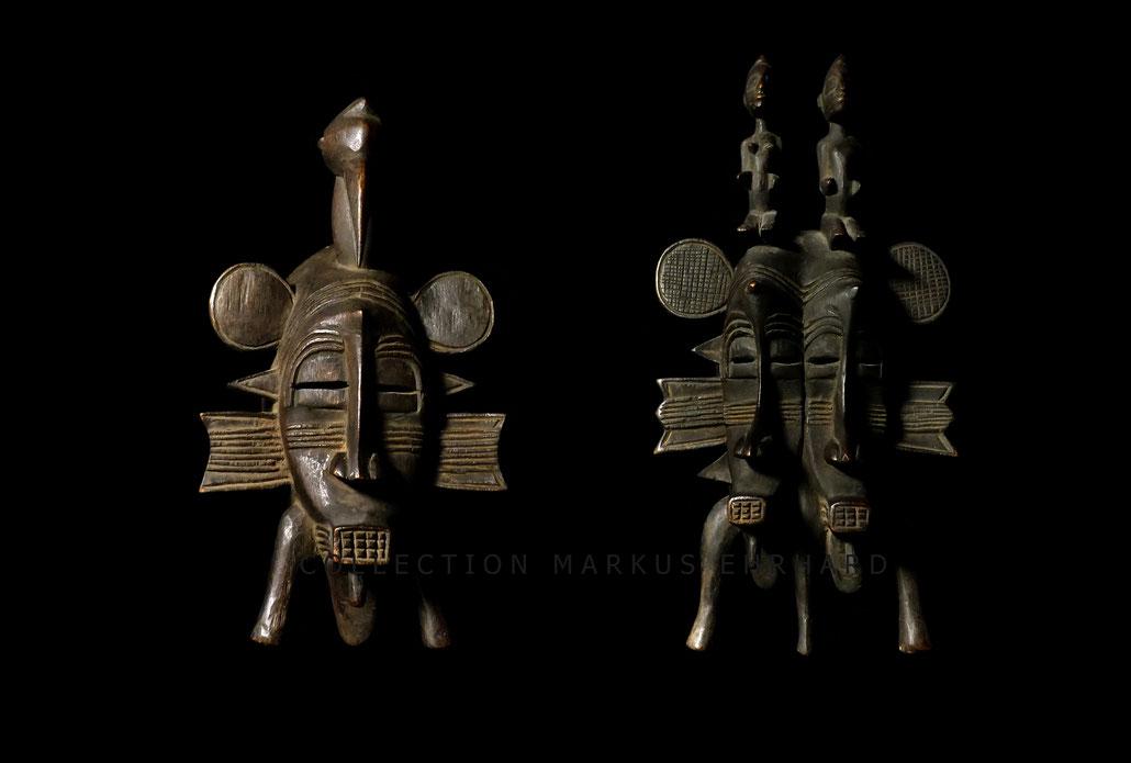 Senufo Kpelié mask Senoufo Kpelie masque