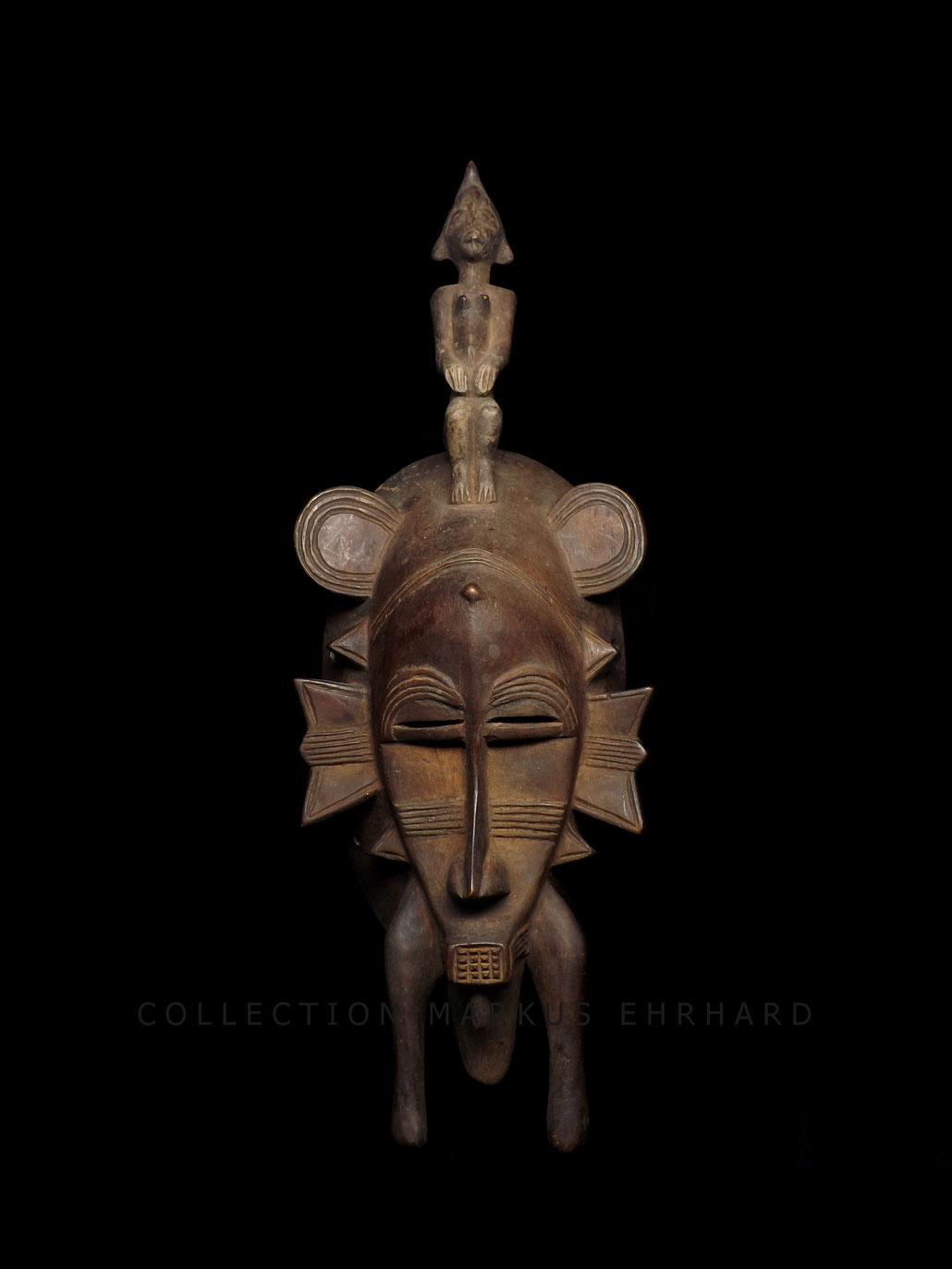 Kpelié mask Senufo art, Senoufo masque Zanga Konaté