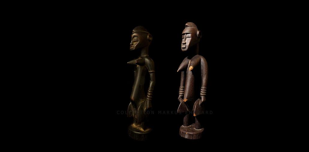 Tugubele Senufo statues Senoufo