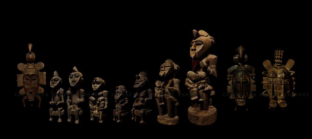 Senufo Senoufo sculpture masks Tugubele Kpelié masques Doh Soro