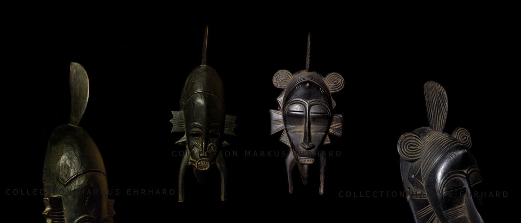 Kpelie masque Senoufo, Kpelie mask Senufo Bolope