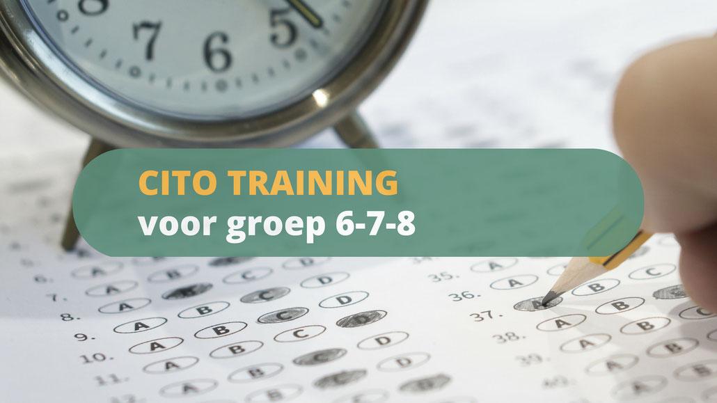 CITO-training voor beter schoolresultaat cito test