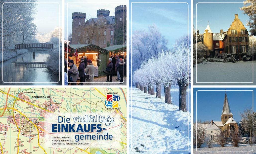 Winterliche Bilder aus Bedburg-Hau