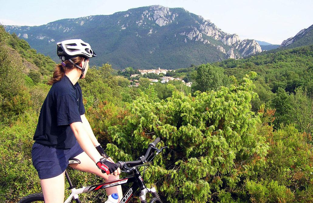 Espace VTT Aude en Pyrénées - Gorges de la Pierre Lys