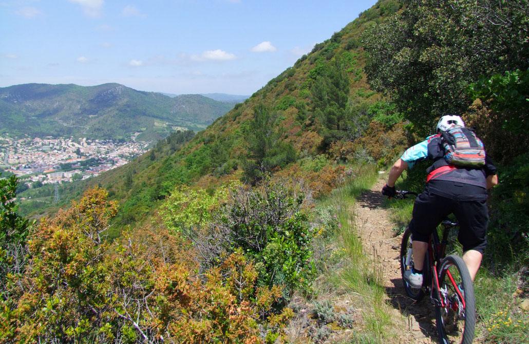 Circuits sportifs de l'Espace VTT Aude en Pyrénées