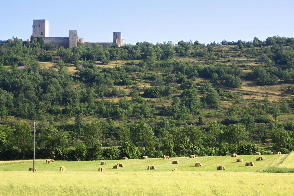 Espace VTT Aude en Pyrénées - Château de Puivert