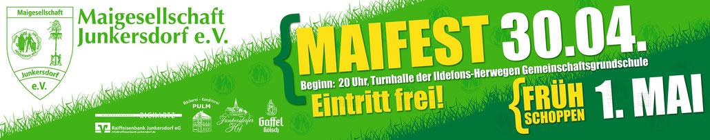Maifest Junkersdorf Tanz in den Mai Köln
