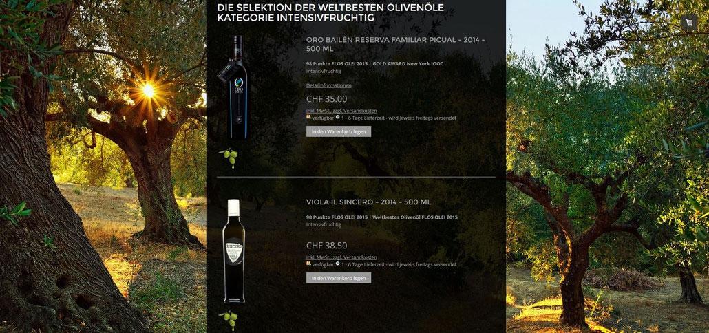 weltbeste Olivenöle bestes Olivenöl der Welt evoo ag