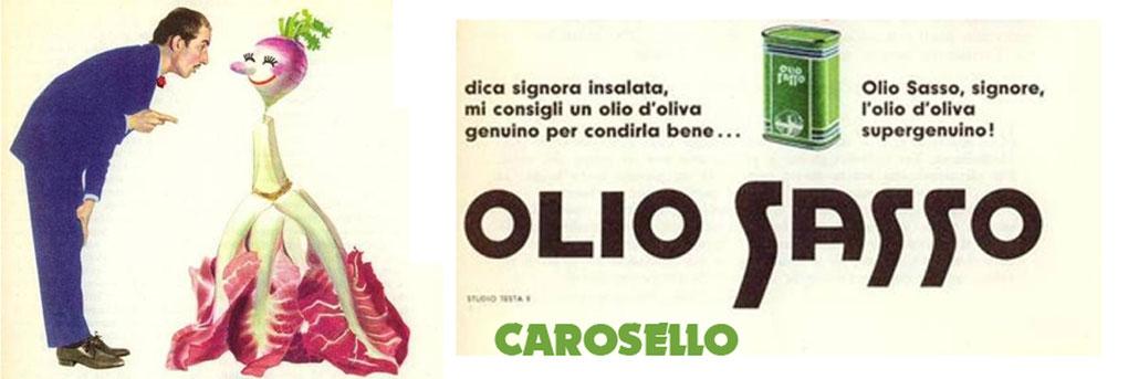 Spezialbeitrag - Carosello Olio Sasso - die historische Werbekampagne zum komischen Öl......