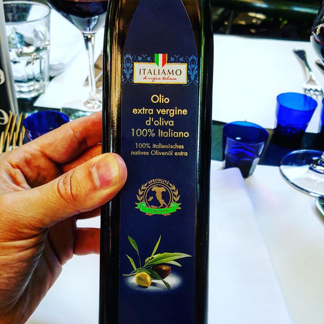 Lidls ITALIAMO ist echt EXTRA VERGINE - geprüft vom Master of Olive Oil