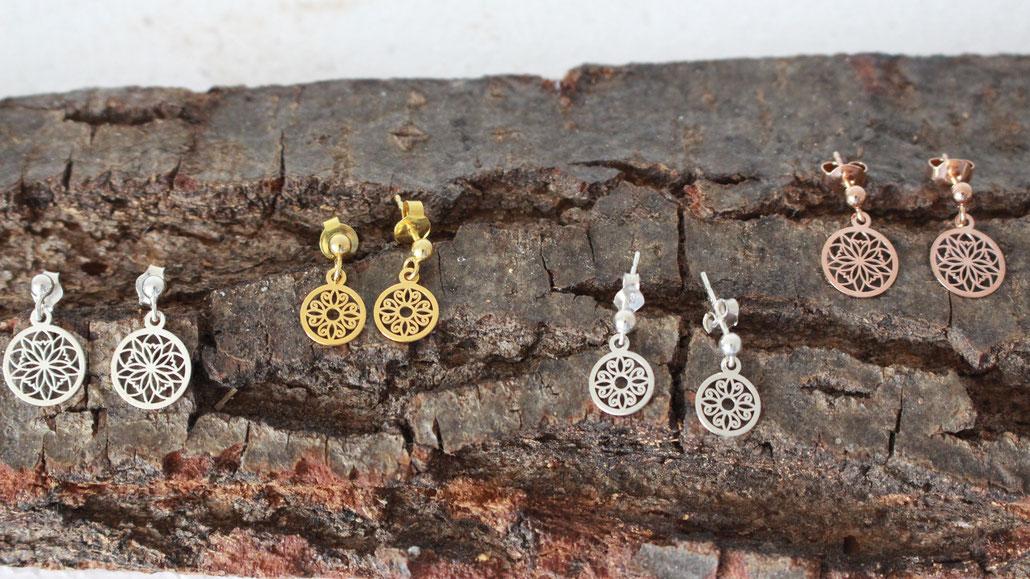Filigrane Ohrringe in 925 Sterling Silber -» jetzt entdecken