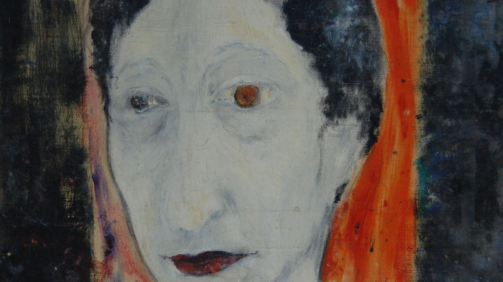 Selbstporträt von Stéfania Unwin (Ausschnitt)
