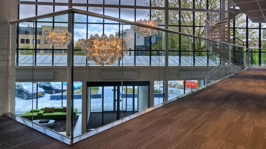 Ganzglas-Geländer von Glas-Zitto