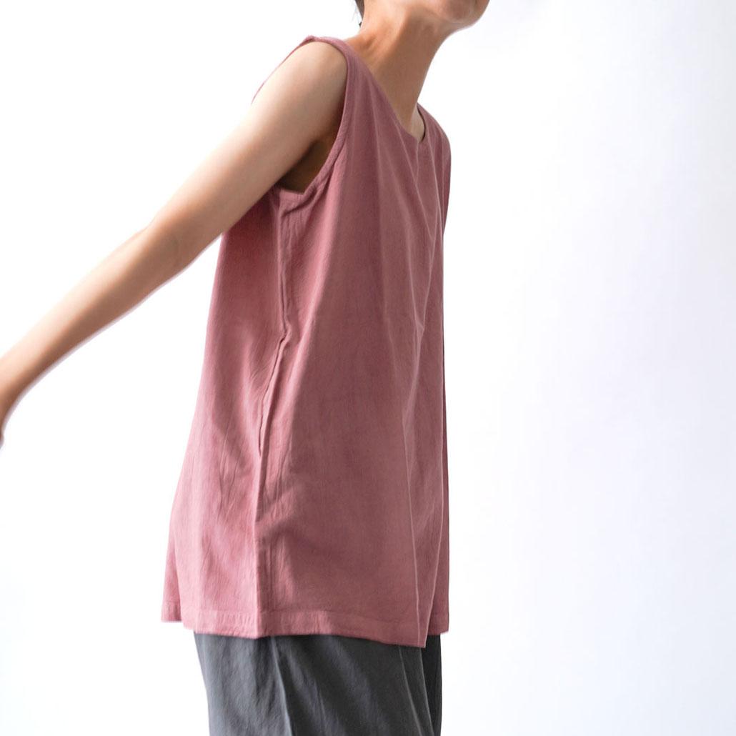 ヂェン先生の日常着 タンクトップ 台湾 綿麻 ジェン先生 ジェンさん チェンさん 表紙 惠中布衣文創工作室 Lサイズ